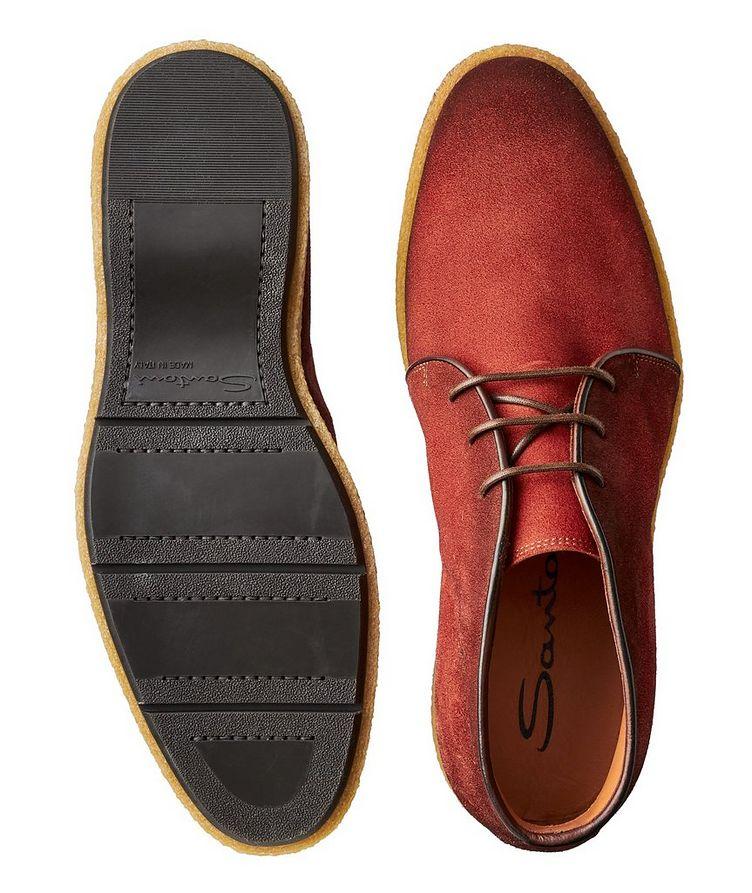 Burnished Suede Desert Boots image 2