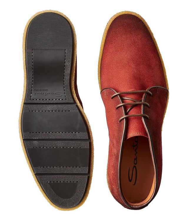 Burnished Suede Desert Boots picture 3