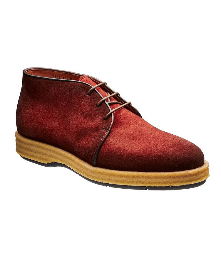 Burnished Suede Desert Boots image 0