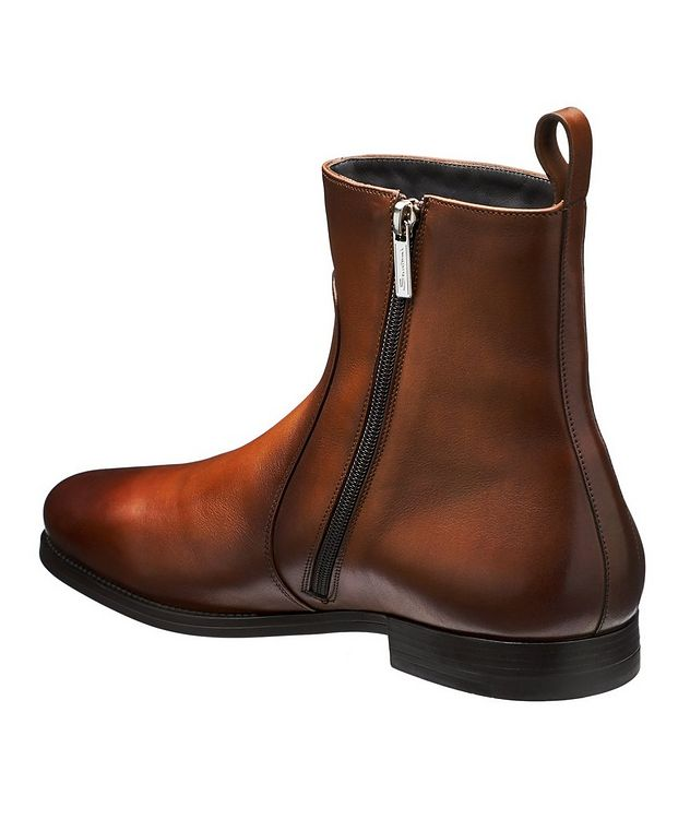 Mars Burnished Fur-Lined Boots picture 2