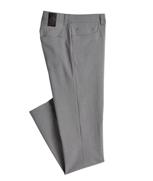 Ceramica Pipe Slim Fit Stretch Pants picture 1