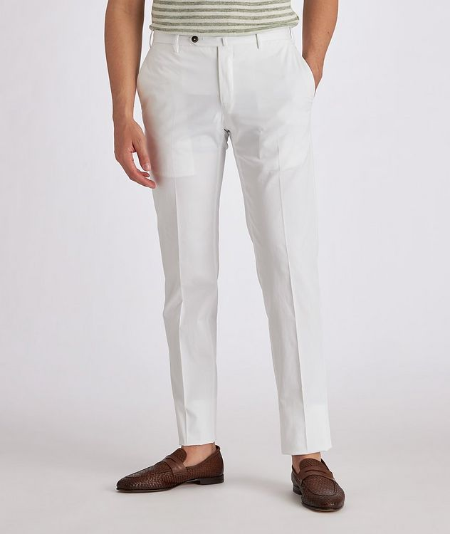 Stretch Cotton-Silk Chinos picture 2