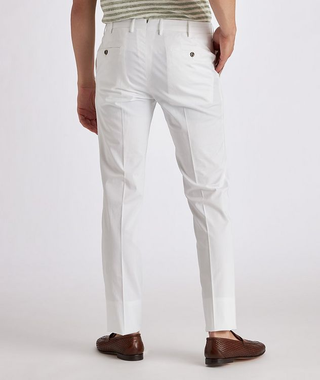 Stretch Cotton-Silk Chinos picture 3