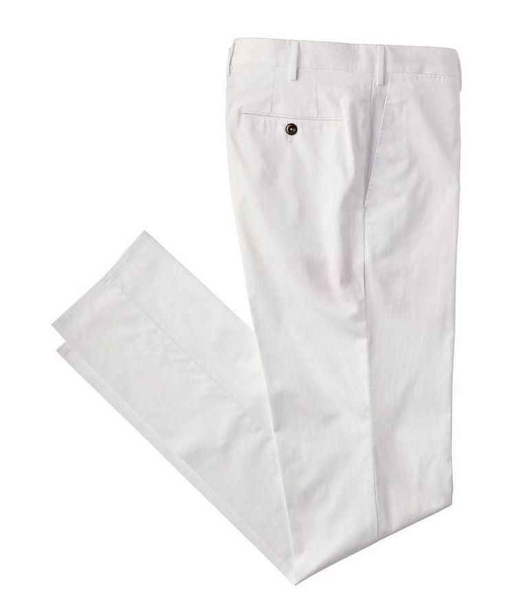 Stretch Cotton-Silk Chinos image 0
