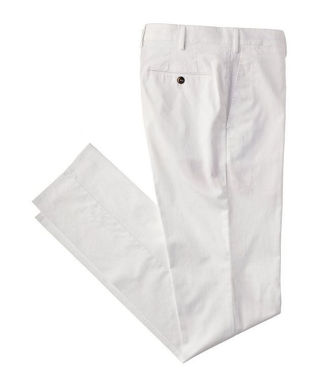 Stretch Cotton-Silk Chinos picture 1
