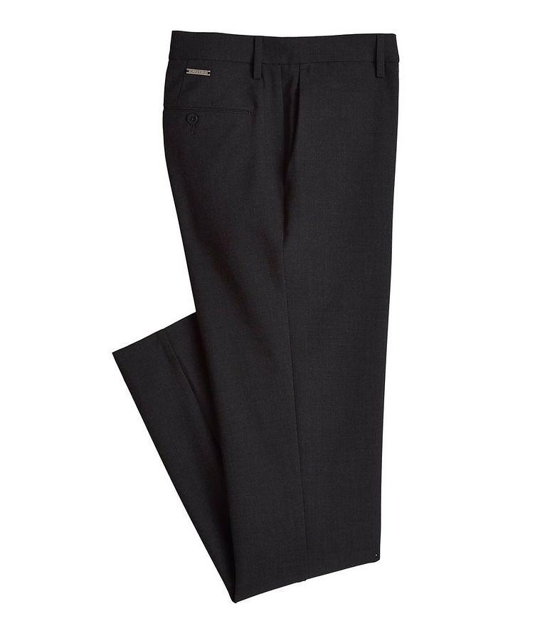 Pantalon en tissu Ceramica de coupe amincie image 0