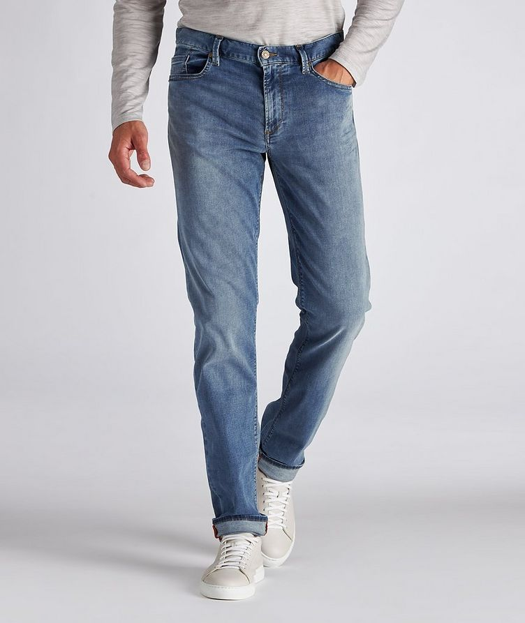Pipe Luxury T400 Slim-Fit Stretch Cotton-Tencel Jeans image 1