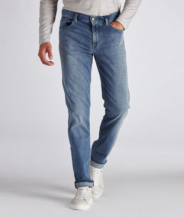 Pipe Luxury T400 Slim-Fit Stretch Cotton-Tencel Jeans picture 2