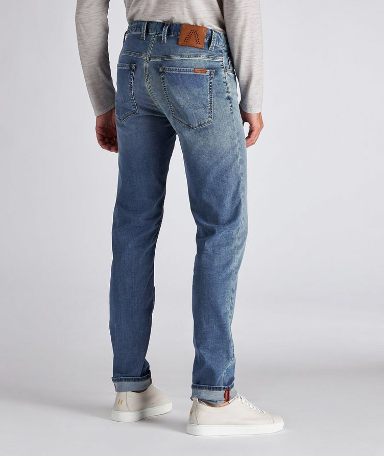 Pipe Luxury T400 Slim-Fit Stretch Cotton-Tencel Jeans image 2