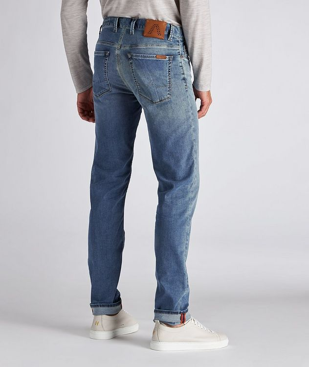 Pipe Luxury T400 Slim-Fit Stretch Cotton-Tencel Jeans picture 3