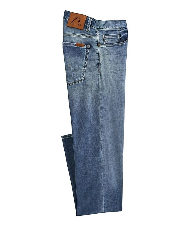 Pipe Luxury T400 Slim-Fit Stretch Cotton-Tencel Jeans picture 1