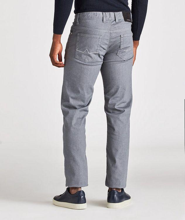 Slim-Fit Pipe Coolmax Premium Business Denim Jeans picture 3