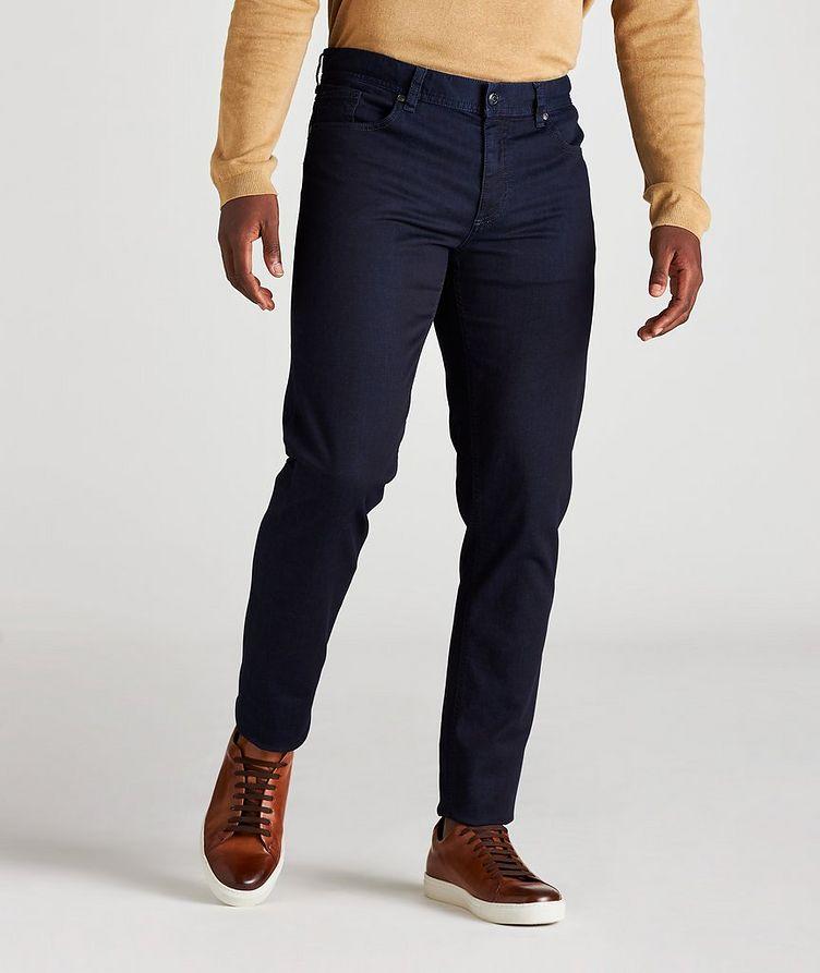 Slim-Fit Pipe Premium Business Jeans image 1