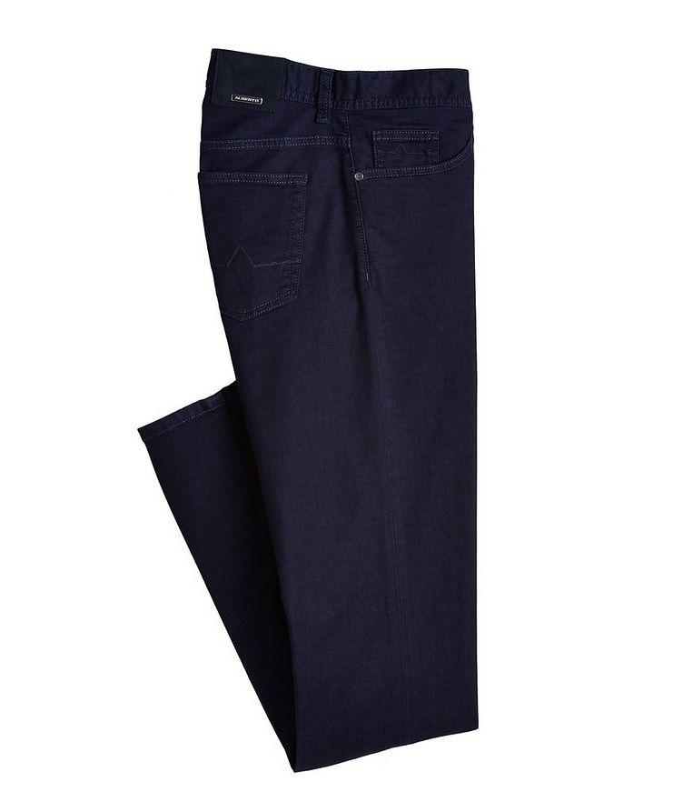 Slim-Fit Pipe Premium Business Jeans image 0