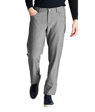 ALBERTO Ceramica Pipe Slim Fit Pants