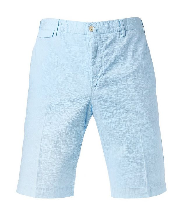 Seersucker Bermuda Shorts picture 1