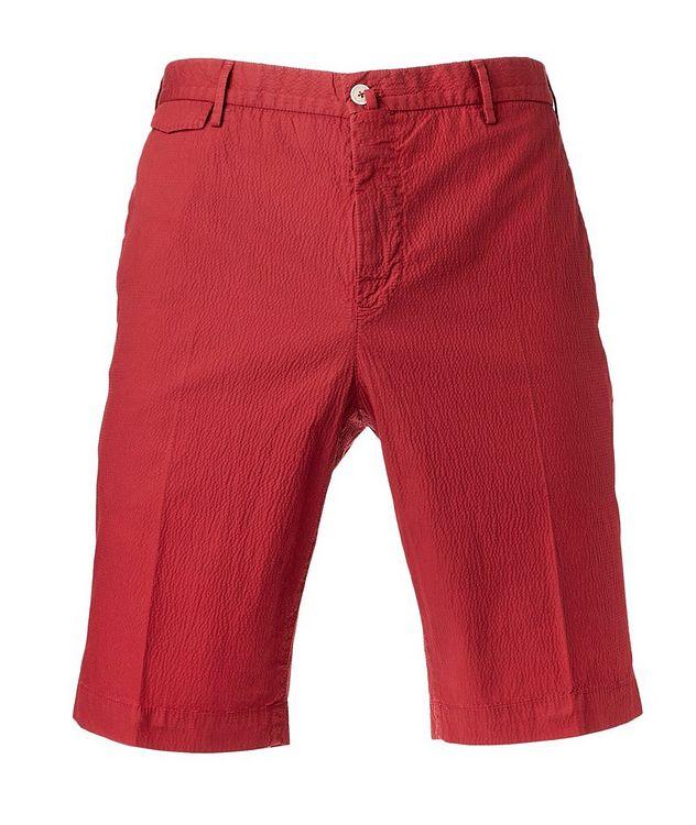 Seersucker Bermuda Shorts picture 1