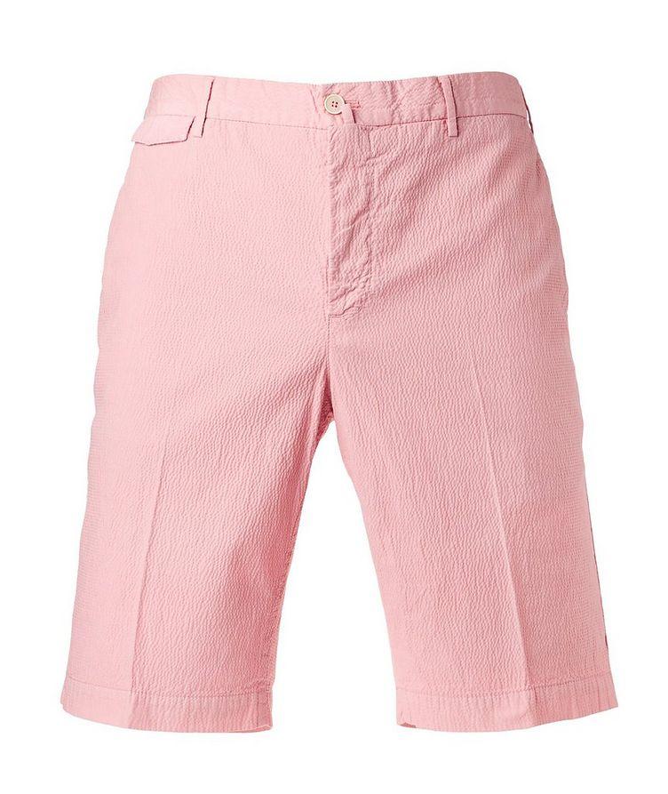 Seersucker Bermuda Shorts image 0