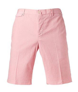 PT01 Seersucker Bermuda Shorts