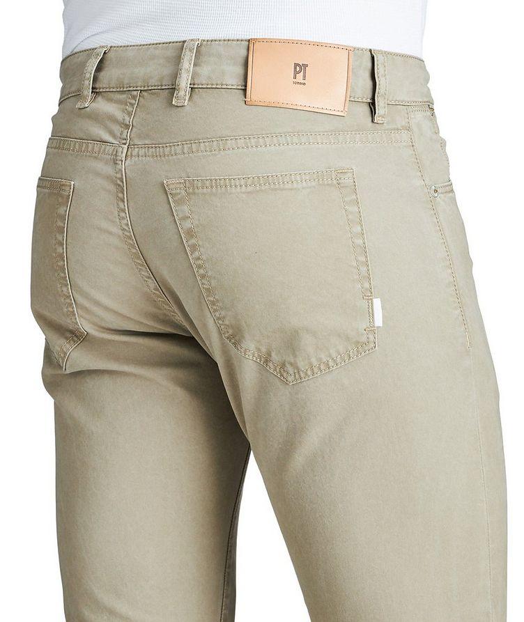 Slim Fit Five-Pocket Pants image 2