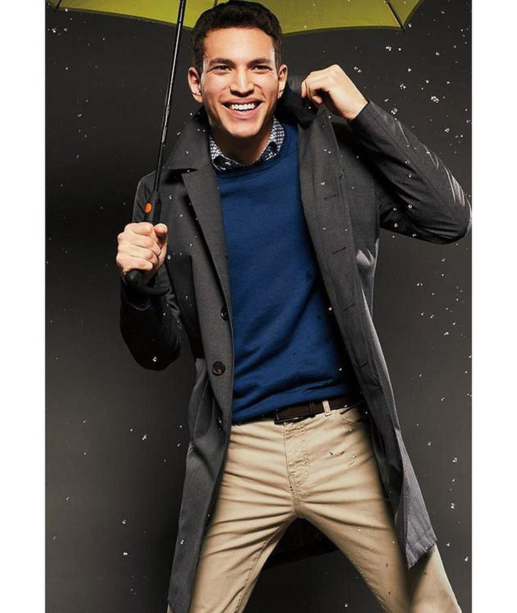 Slim Fit Five-Pocket Pants image 3
