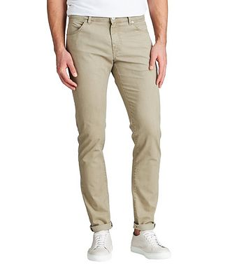 PT01 Slim Fit Five-Pocket Pants