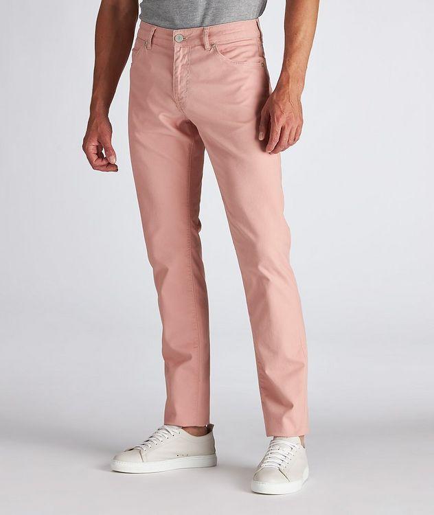 Soul Slim Fit Stretch-Cotton Pants picture 2
