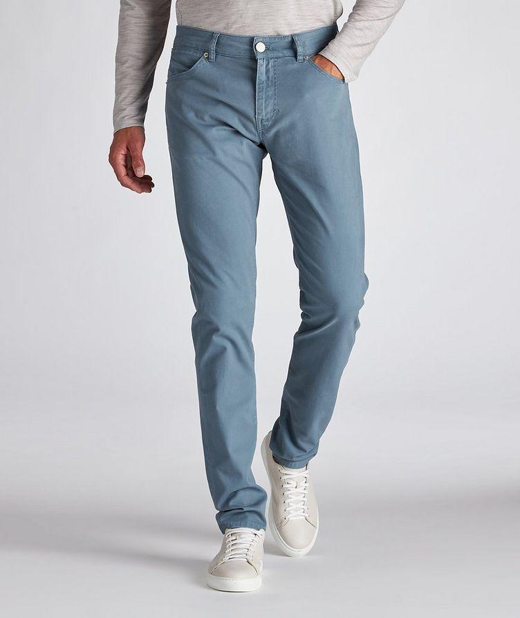 Soul Slim Fit Stretch-Cotton Pants image 1