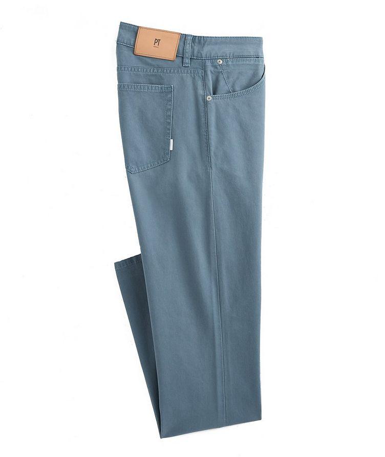 Soul Slim Fit Stretch-Cotton Pants image 0