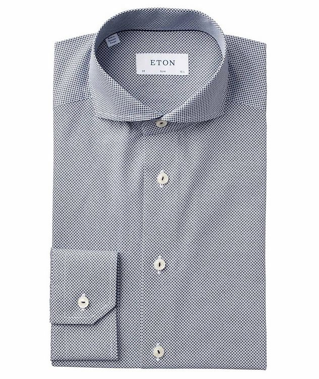 Slim Fit Neat-Printed Dress Shirt picture 1