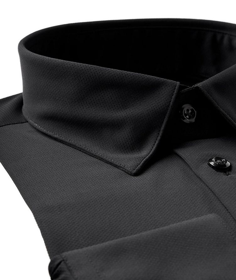 Perforated Stretch-Performance Shirt image 1