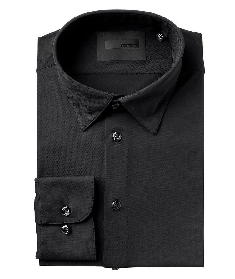 Perforated Stretch-Performance Shirt image 0