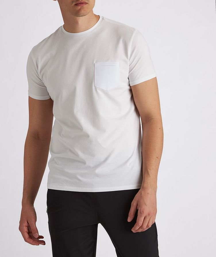Stretch-Cotton Performance T-Shirt image 3