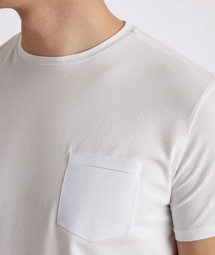 Stretch-Cotton Performance T-Shirt image 4