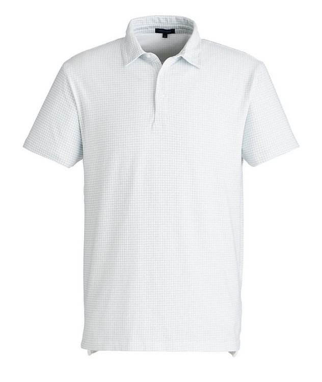 Printed Stretch-Cotton Polo picture 1