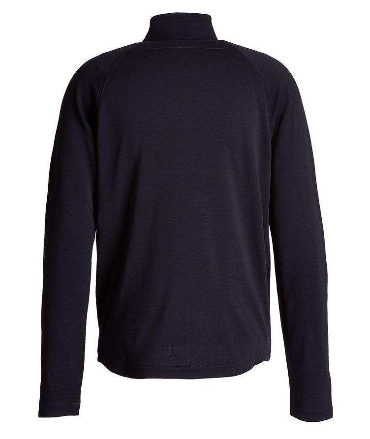 Zip-Up TECHMERINO Wool Sweater image 1