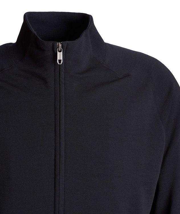 Zip-Up TECHMERINO Wool Sweater picture 3