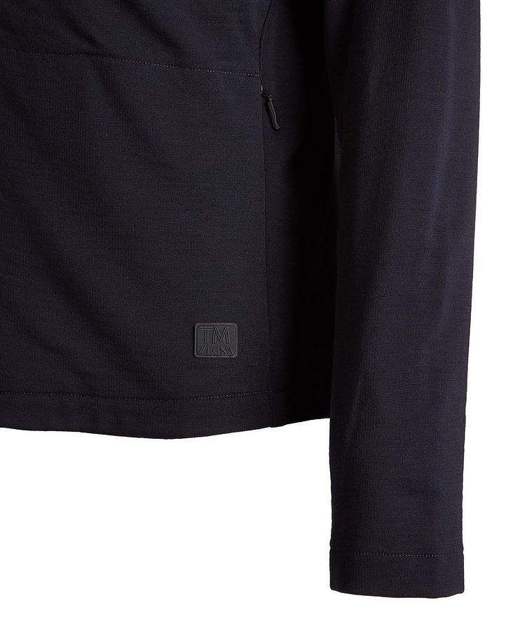 Zip-Up TECHMERINO Wool Sweater image 3