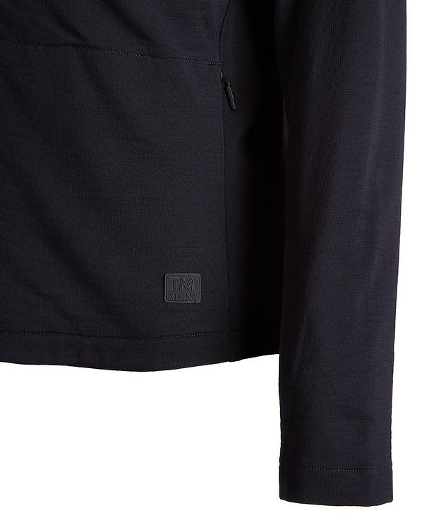 Zip-Up TECHMERINO Wool Sweater picture 4