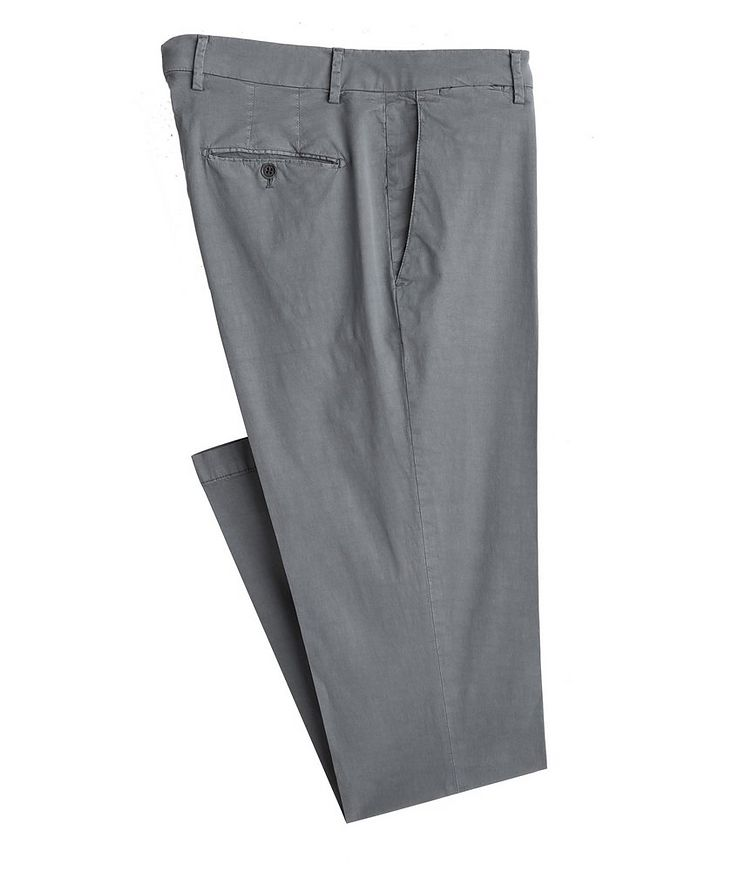 Stretch-Lyocell-Cotton Pants image 0