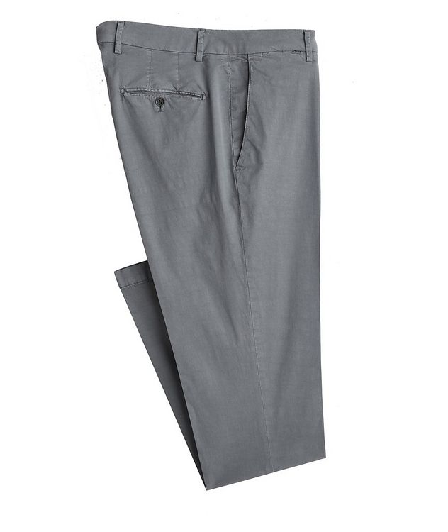 Stretch-Lyocell-Cotton Pants picture 1