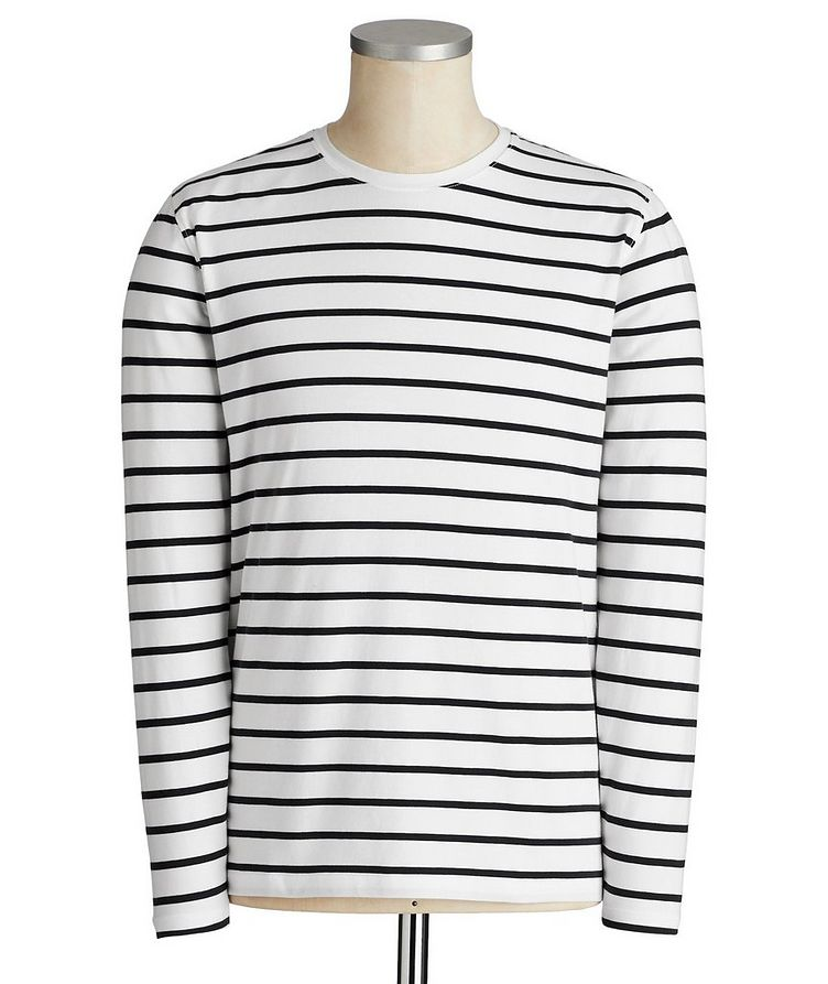 Pima Cotton Long-Sleeve T-Shirt image 0