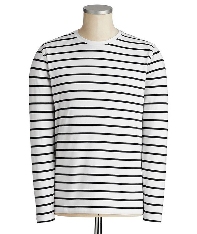 Pima Cotton Long-Sleeve T-Shirt picture 1