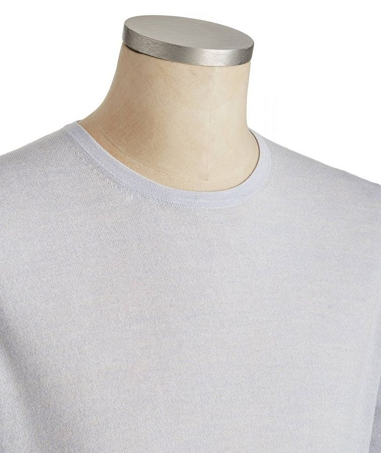 Long-Sleeve Cotton-Wool T-Shirt image 1