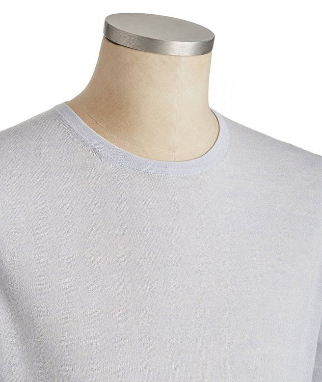 Long-Sleeve Cotton-Wool T-Shirt picture 2