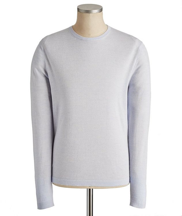 Long-Sleeve Cotton-Wool T-Shirt picture 1