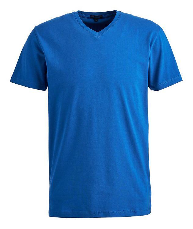 T-shirt extensible à encolure ronde picture 1