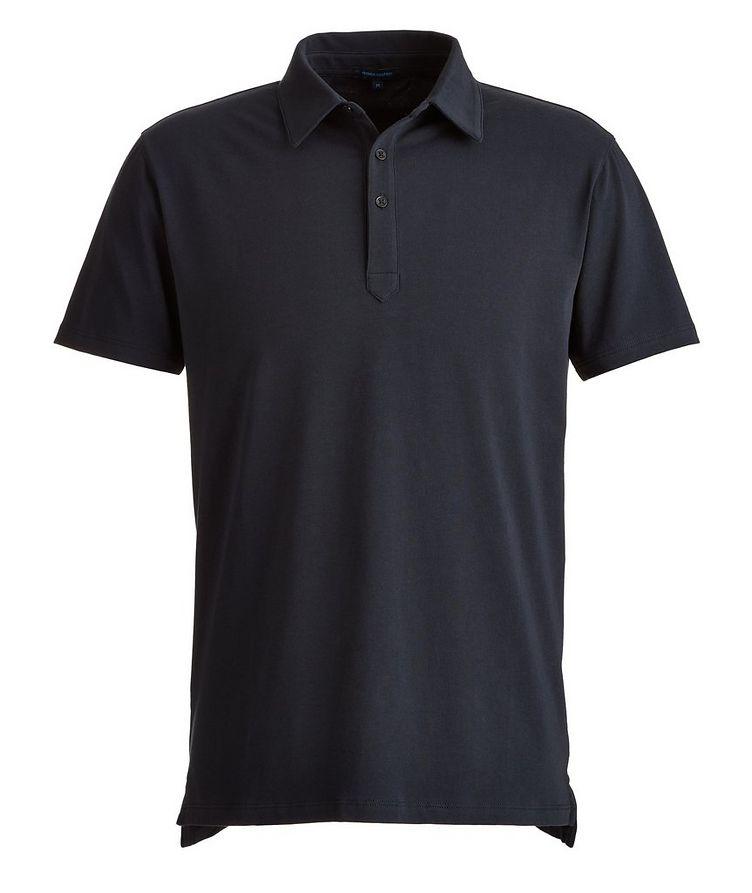 Stretch-Pima Cotton Polo image 0