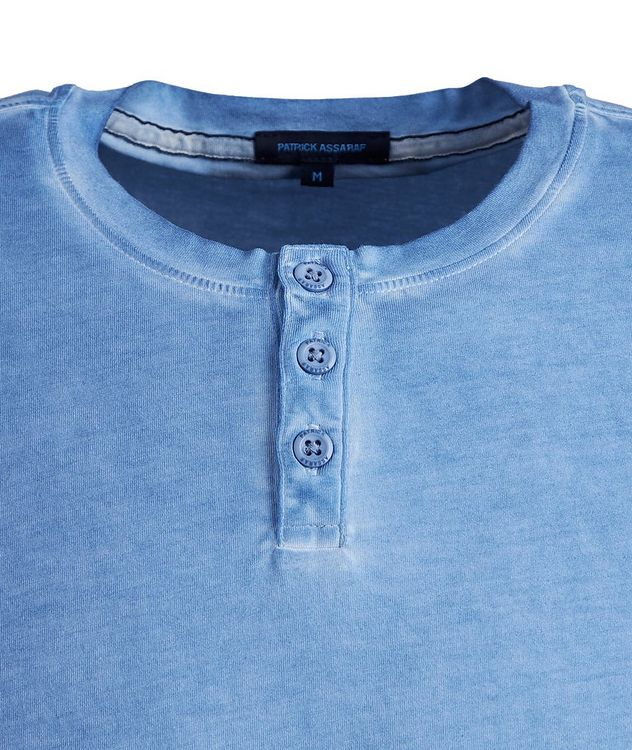 Stretch-Cotton Henley picture 2
