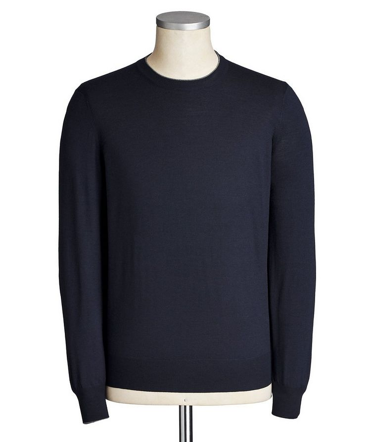 Virgin Wool-Cashmere Sweater image 0